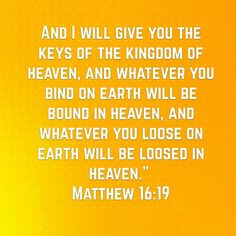Matthew 16:19