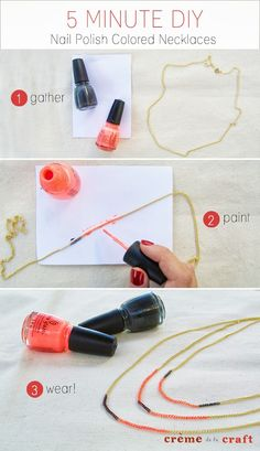 10 Creative DIY Projects With Nail Polish