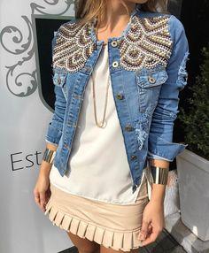 Basic Fashion, Cute Fashion, Plus Size Fashion, Korean Fashion, Fashion Tips For Girls, Petite Fashion Tips, Grunge Fashion, Denim Fashion, Fashion Outfits
