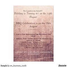 Sample Invitation