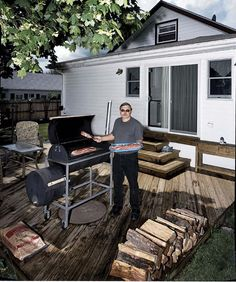How to build a BBQ smoker - plans for building backyard smoker, great how to build a smoker, DIY BBQ Pit, DIY BBQ Smoker. Barbecue Smoker, Grilling, Build Your Own Smoker, Backyard Smokers, Backyard Bbq, Homemade Smoker, Food Truck Design, Built In Grill, Smokehouse