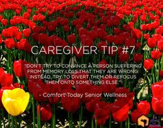 Caregiver Tip 7: Memory Loss Tactic