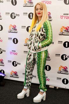 Rita Ora freaking love her style