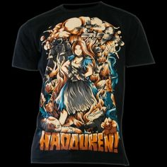 Hadouken Alice in Warland T-Shirt