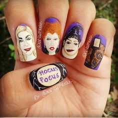 halloween hocus pocus by 101nailfreak #nail #nails #nailart