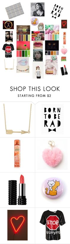 """""""My Swatches for Summer!"""" by in-it-not-of-it ❤ liked on Polyvore featuring Fremada, Seventy Tree, Mudd, Kat Von D, Ele, Urban Outfitters, Ashish and Alexis Mabille"""