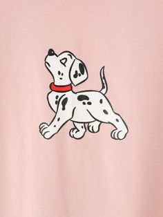 Dog Print T-shirt -SheIn(Sheinside)