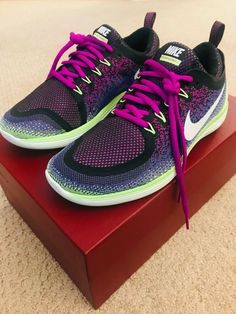 efb6c8eeaff3d NIKE WOMEN S FREE RN DISTANCE 2 RUNNING SHOE 863776-501 SZ US W 8 UK 5.5  EUR 39  Nike  RunningCrossTraining