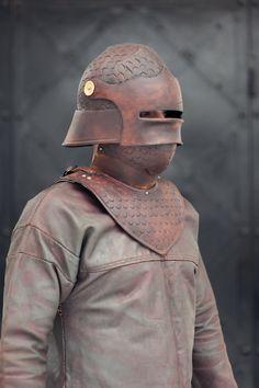 helmet and gorget by vofffka on deviantART
