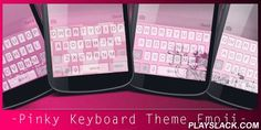 Pinky Keyboard Theme Emoji  Android App - playslack.com , Add color to your life with Pinky theme. It could be extremely fantastic if you can use the same theme for both keyboard and wallpaper. With Pinky Keyboard Theme Emoji, you will be able to change the color or the picture of your keyboard to be a Pinky style, and at the same time you can change the theme of your wallpaper to align with that of keyboard.Your phone and gadget will be dressed up keyboard and wallpaper with the latest…