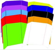 """Project Board - Assorted Colors - 24"""""""" x 36"""""""" Case Pack 24"""
