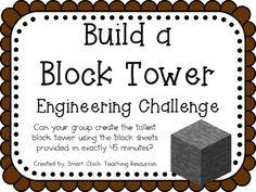 STEM Engineering Challenge Pack ~ Minecraft Challenges ~ S
