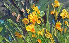 Barbara JAŚKIEWICZ – Obrazy malowane szpachlą
