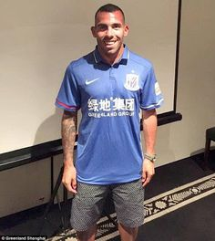See the crazy wages Carlos Tevez will earn on his new China deal now the worlds highest paid footballer