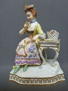 "Antique Meissen 5 1/2""  Figurine Sold for $810.00 Bidders 13"
