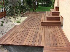 http://www.landschaftsgaertner.org/upload/holzterrasse-cumaru-boeblingen.jpg Eine Terrasse aus Holz erfüllt den Traum eines ruhigen Ortes zum Entspannen im Garten. Der Bau geht schnell und die Möglichkeiten bei der Gestaltung sehr vielfältig. Verschiedene Holzarten eigenen sich für eineTerrasse und auch die Beleuchtung einer Holzterrasse ist sehr flexibel. Hier findest Du weitere Ideen und Infos zum Bau und den passenden Handwerker: https://www.my-hammer.de/