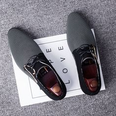 newest 2b82b 66999 WolfWho High Quality Men Oxford Leather Shoes Fashion Business Men Shoes  Men Dress Shoes Plus Size