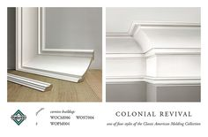 COLONIAL REVIVAL CROWN MOLDING CORNICE BUILDUP | Flickr - Photo Sharing!