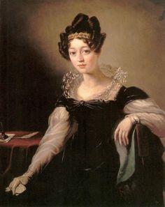 Zofia z Czartoryskich Zamoyska, daughter of Isabella Czartoryska. about 1820