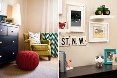 Modern Boy's Nursery | Private Residence | Chandler, AZ