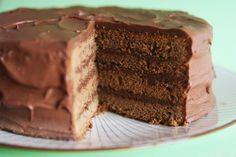 Cinnamon Girl: Mocha Layer Cake
