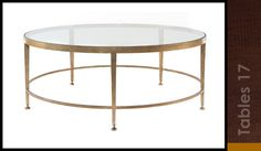 ANy size and any color, made by same company as Tara's table. Glass shelf on bottom is optional.