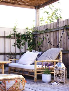 Outdoor Living: Boho Style | Dotcoms for Moms