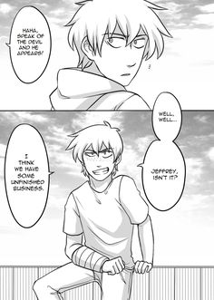 Jeff the Killer Page 53 by Kyoichii on DeviantArt