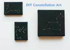 DIY | ...love Maegan #diy  constellation  sky,  art