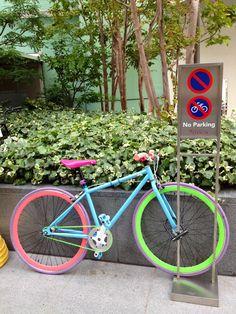 Pastel color #bike #cute