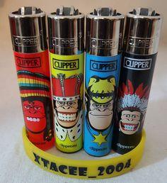 #94 Clipper Lighter Lighters FANCY DRESS MONKEY Print Single/Full Set