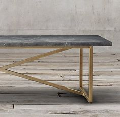 Torano Marble Rectangular Dining Table | RH