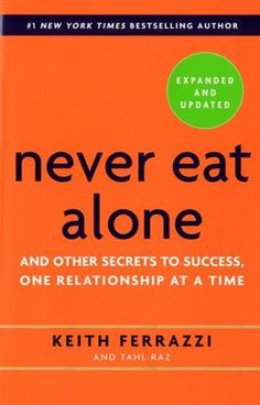 In Never Eat Alone, Ferrazzi lays out the specific steps—and inner mindset—he uses to reach out to connect with the thousands of colleagues, friends, and associates on his contacts list, people he has helped and who have helped him.
