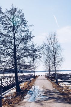 Hamnen i Västerås vintertid - reaktionista.se