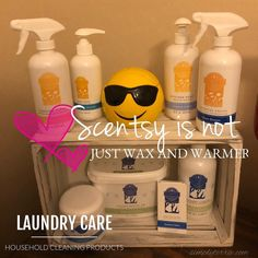 Scentsy is not just wax and warmers. Did you know we a laundry line and cleaning products. Doing laundry and cleaning house has never been so fun. I can send samples if you fill out the link in my bio! #simplyterrie #azscentsygal