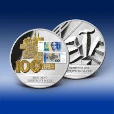 Gigantenprägung - 100 Deutsche Mark (Banknote)