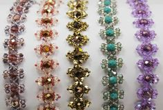 Deb Roberti's FREE Jeweled Bracelet pattern