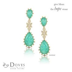 #MothersWeek continues with more for #MOM! Show your love with earrings from the #Amazonite collection.