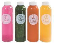 Cleanse your body internally Three-day juice cleanse at Raw Republic.