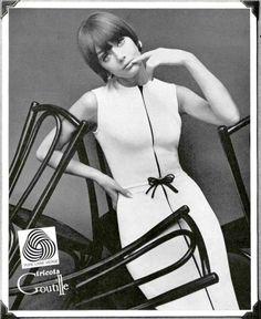 Ina Balke in Woolmark advert by Helmut Newton 1966