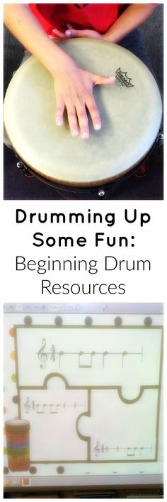 Find fantastic drumming resources for elementary students on SingToKids1