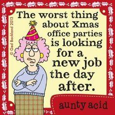 Aunty Acid Christmas
