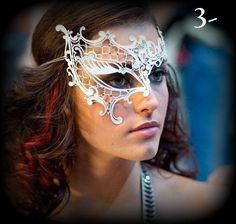Halloween Mask The Vampire Diaries Masquerade Mask by HigginsCreek