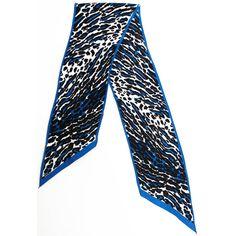 Vera Neumann Vintage Black and Blue Leopard par nicolasvintage, $14.00