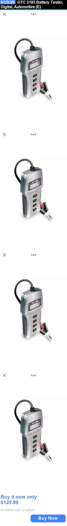 Battery Testers: Otc 3183 Battery Tester, Digital, Automotive (E) BUY IT NOW ONLY: $129.99