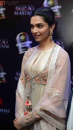 Deepika Padukone | Deepika Padukone at Anju Modi's Bajirao Mastani Collection Launch Photo #255