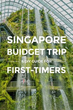 Singapore Budget Trip & DIY Guide for First-Timers... Start here to plan a trip in Singapore. See travel tips & guides on must-visit sights, budget, places to stay, ways to save money & more. #savemoneytraveling