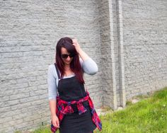 What I Wore: The Winter Pinafore {#StyleItProject} | The Illusive Femme | pinned by KimbaLikes.com for Wardrobe Wednesday