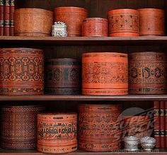 Pottery from Myanmar (Burma) Asian Interior, Burma Myanmar, Moroccan Decor, Ethnic Decor, Asian Decor, Burmese, Chinoiserie, Southeast Asia, Asian Art