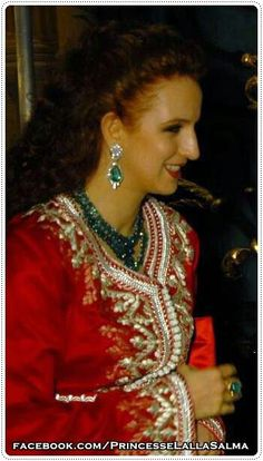 Caftan princesse Salma